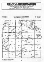 White Oak T140N-R32W, Hubbard County 1992 Published by Farm and Home Publishers, LTD